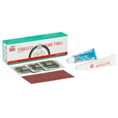 Tubeless Flickzeug Set